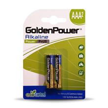 Golden Power GLR03A Power Plus AAA Battery  Pack of 2